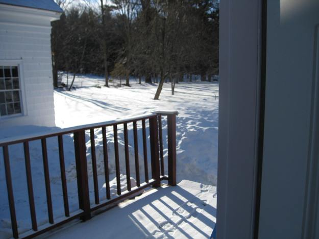 Snow on March 16, 2015