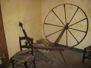 walking wheel at Coggeshall Farm