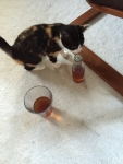 Pippi and wine