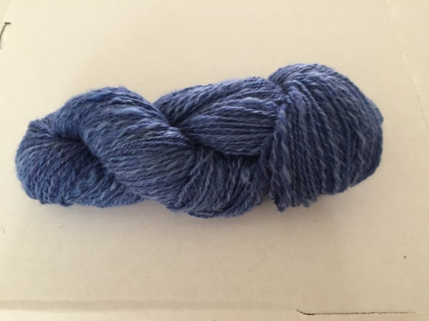 Alpaca BFL yarn Dec 2015