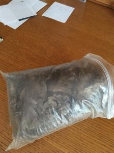 qiviet in dirty bag