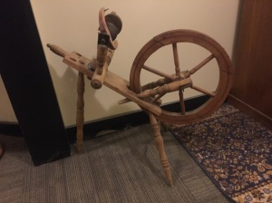 spinning wheel at mill