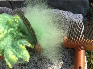 Alspach wool combing
