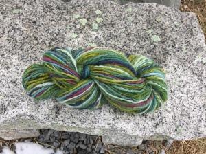 Betsy Alspach chain plyed yarn