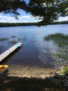 college friends lake in Washington